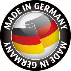 Werbemittel aus deutscher Herstellung / Made in Germany